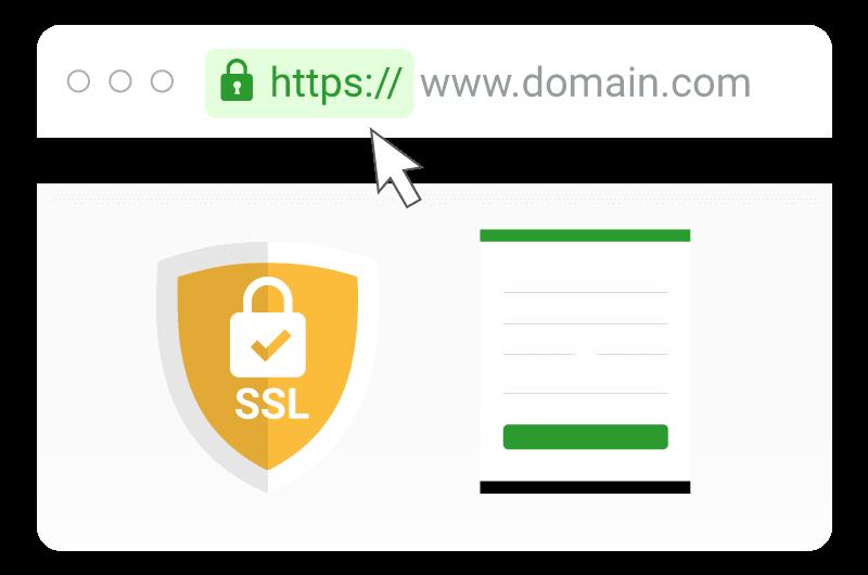 Veilige website met SSL certificaat Media4now