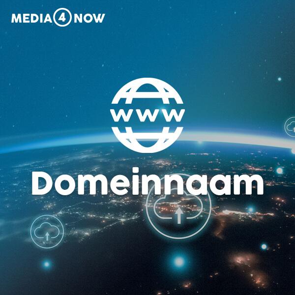 Domeinnaam bestellen bij Media4now