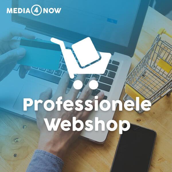 Webshop pakket voor ondernemers - Webshop laten maken? | Media4ow webdesign