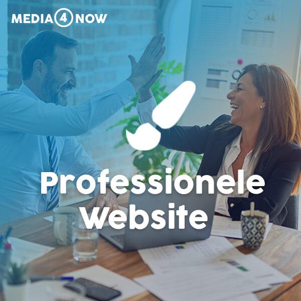 Professionele website laten maken? - Media4now