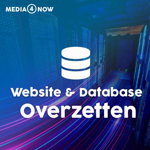 Website & Database overzetten
