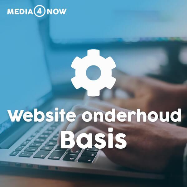 Website onderhoud Basis - Media4now