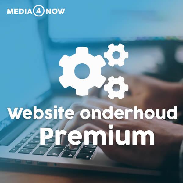 Website onderhoud Premium - Media4now